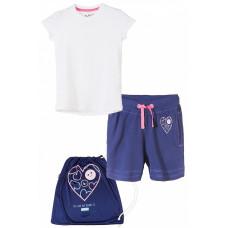 Комплект для девочки (шорты и футболка)