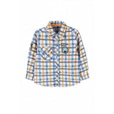Рубашка в клетку для мальчика 104