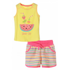 Комплект для девочки (футболка и шорты)
