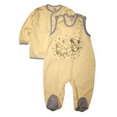 Комплект одежды для новорожденных (кофточка и ползунки) BB&ZUZIA, 62