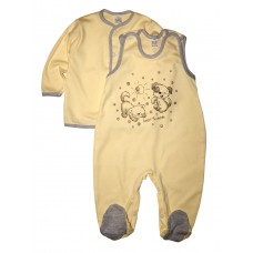 Комплект одежды для новорожденных (кофточка и ползунки) BB&ZUZIA, 74