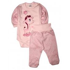 Комплект одежды для новорожденных (боди и штанишки)