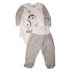 Комплект одежды для новорожденных (боди и штанишки) 74